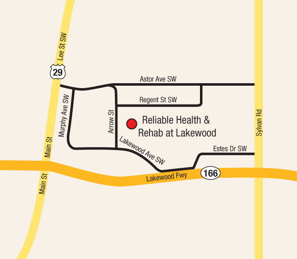 Reliable Health Care map